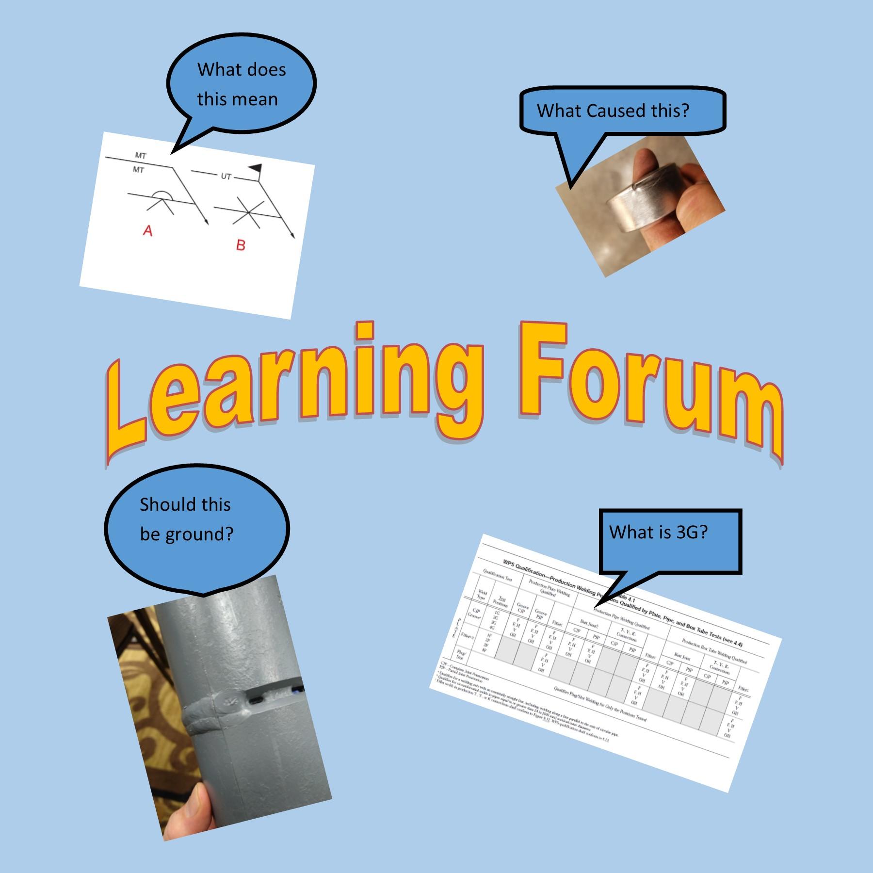 Welding Inspection Tutoring Forum